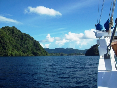 The Ring of Fire: from Flores to Banda Sea